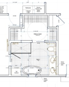 accessible bath plan